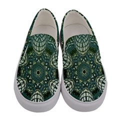 Background Image Decoration Women s Canvas Slip Ons