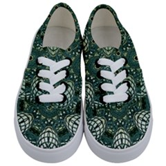Background Image Decoration Kids  Classic Low Top Sneakers