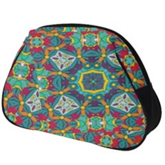 Farbenpracht Kaleidoscope Art Full Print Accessory Pouch (big)