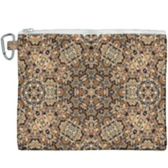 Pattern  Background Canvas Cosmetic Bag (xxxl)