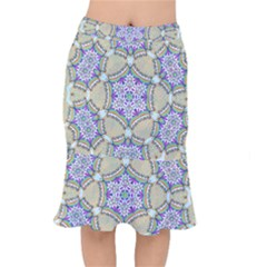 Ornament Kaleidoscope Mermaid Skirt