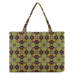 Background Image Decorative Zipper Medium Tote Bag
