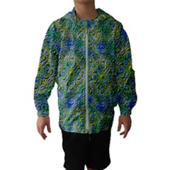 Farbenpracht Kaleidoscope Hooded Windbreaker (kids)