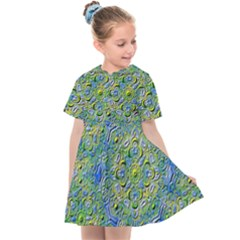 Farbenpracht Kaleidoscope Kids  Sailor Dress