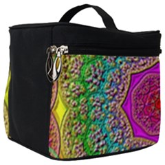 Mandala  Background Geometric Make Up Travel Bag (big)