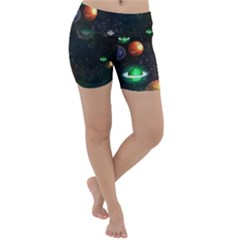 Galactic Lightweight Velour Yoga Shorts