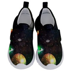 Galactic Kids  Velcro No Lace Shoes by WensdaiAmbrose
