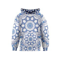 Pattern Tile Background Image Kids  Pullover Hoodie