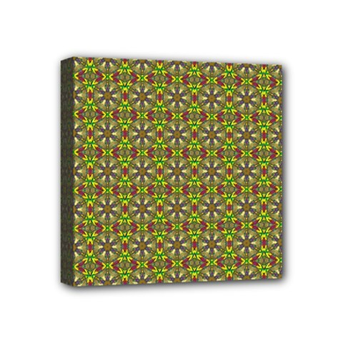Background Image Pattern Mini Canvas 4  X 4  (stretched)