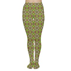 Background Image Pattern Tights