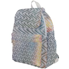 Abstract Geometric Line Art Top Flap Backpack
