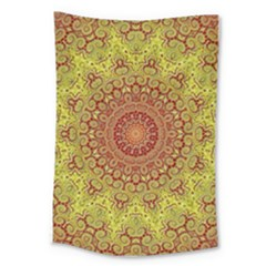 Background Fractals Surreal Design Large Tapestry