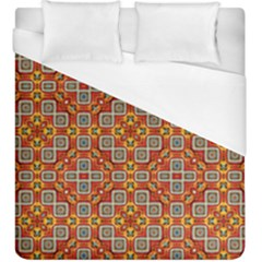 Tile Background Image Pattern Duvet Cover (king Size)
