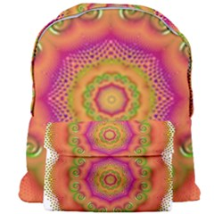 Pattern Colorful Abstract Giant Full Print Backpack