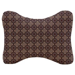 Background Image Decoration Velour Seat Head Rest Cushion