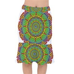 Tile Background Image Graphic Fractal Mandala Mermaid Skirt