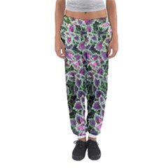 Ivy Lace Flower Flora Garden Women s Jogger Sweatpants