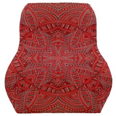 Tile Background Image Graphic 35 Red Car Seat Back Cushion
