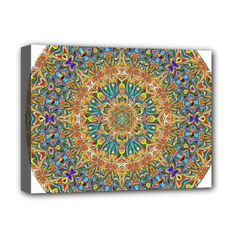 Colorful Pattern Color Deluxe Canvas 16  X 12  (stretched)  by Pakrebo