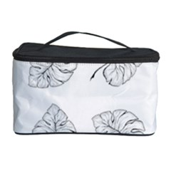 Tropical Leaves Cosmetic Storage by goljakoff