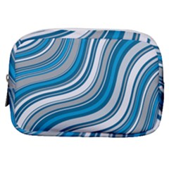 Blue Wave Surges On Make Up Pouch (small) by WensdaiAddamns
