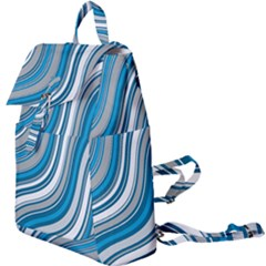 Blue Wave Surges On Buckle Everyday Backpack by WensdaiAddamns