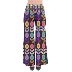 Zappwaits Flowers So Vintage Palazzo Pants