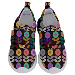 Zappwaits Flowers Kids  Velcro No Lace Shoes by zappwaits