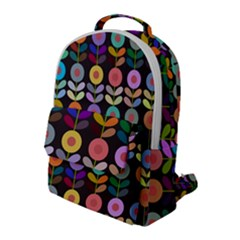 Zappwaits Flowers Flap Pocket Backpack (large)