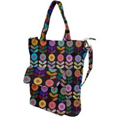 Zappwaits Flowers Shoulder Tote Bag by zappwaits