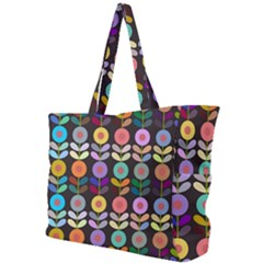 Zappwaits Flowers Simple Shoulder Bag