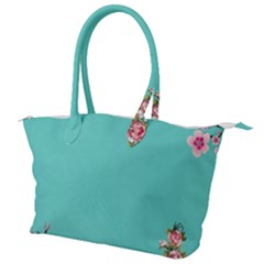 Come See The Cherry Trees Canvas Shoulder Bag
