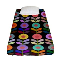 Zappwaits Flowers Fitted Sheet (single Size)