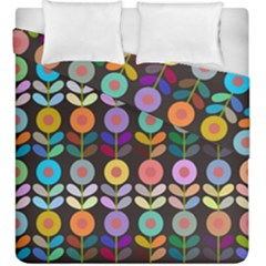 Zappwaits Flowers Duvet Cover Double Side (king Size)