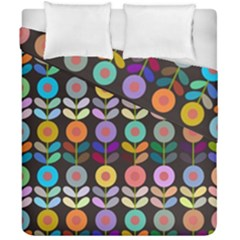 Zappwaits Flowers Duvet Cover Double Side (california King Size)