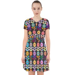 Zappwaits Flowers Adorable In Chiffon Dress