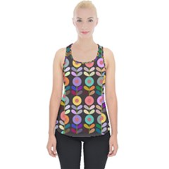 Zappwaits Flowers Piece Up Tank Top