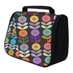Zappwaits Flowers Full Print Travel Pouch (small)