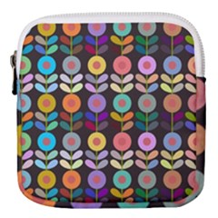 Zappwaits Flowers Mini Square Pouch
