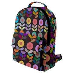 Zappwaits Flowers Flap Pocket Backpack (small)