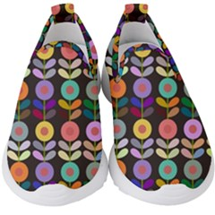 Zappwaits Flowers Kids  Slip On Sneakers