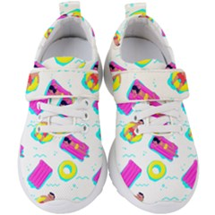 Swim Playboy Summer Mode Kids  Velcro Strap Shoes