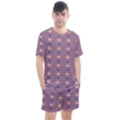 Express Yourself Men s Mesh Tee And Shorts Set