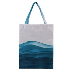 Ocean Waves Painting Classic Tote Bag by goljakoff