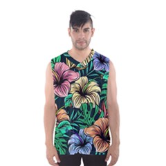 Hibiscus Dream Men s Basketball Tank Top