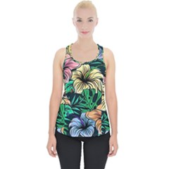 Hibiscus Dream Piece Up Tank Top