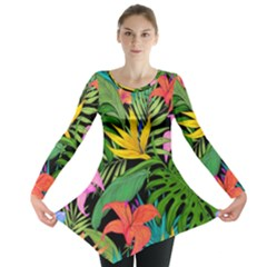 Tropical Adventure Long Sleeve Tunic