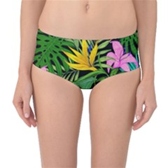 Tropical Adventure Mid-waist Bikini Bottoms
