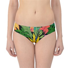 Tropical Adventure Hipster Bikini Bottoms