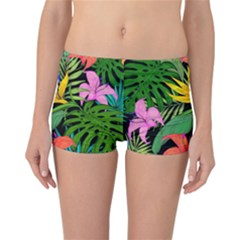 Tropical Adventure Reversible Boyleg Bikini Bottoms